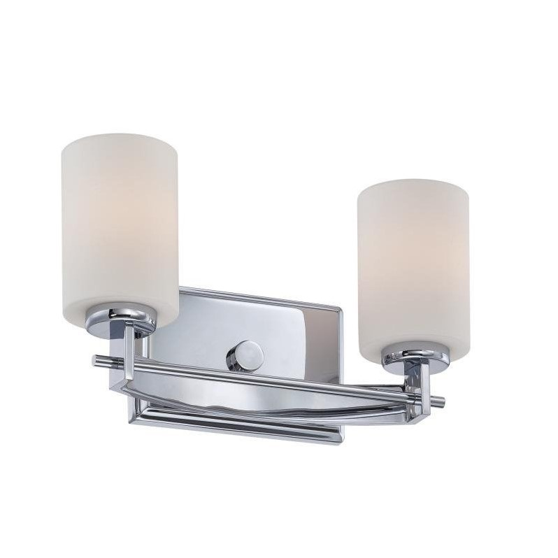 Quoizel Taylor Bath Fixture with 2 Lights in Polished Chrome - image 1 of 1