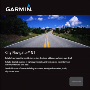Garmin City Navigator Europe NT, UK/Ireland (micro City Navigator Europe NT UK Ireland