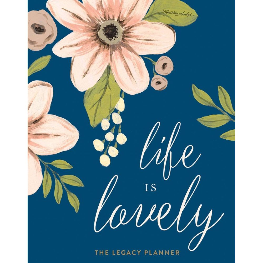 2018 life is lovely planner more inspiration by legacy publishing 2018 life is lovely planner more inspiration by legacy publishing group walmart kristyandbryce Image collections