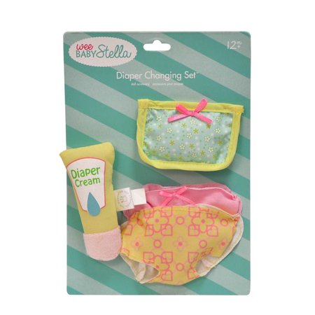 Toys & Co (Wee Stella Diaper Changing Set - Doll Accessory by Manhattan Toy Co.)