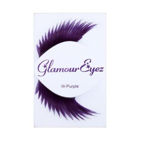 Glamour Eyez Eyelashes - Wicked Purple](Purple Eyelashes)