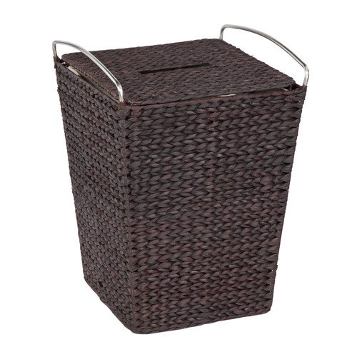 Metro Espresso Finish Hamper with Liner