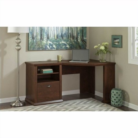 Bush Yorktown 60W Corner Desk in Antique Cherry - image 11 de 11
