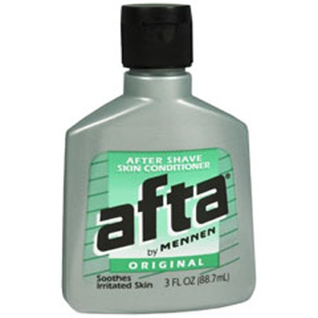 - Afta Original After Shave Lotion with Skin Conditioner By Mennen 3 oz (6 Pack)