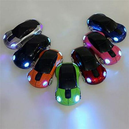Mini Car Shape 2.4G Wireless Mouse Receiver with USB Interface for Notebooks Desktop Computers