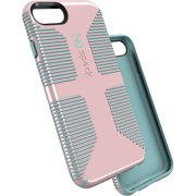 Speck CandyShell Grip Case for iPhone SE 2020, iPhone 6, iPhone 7, and iPhone 8, River Blue/Quartz Pink