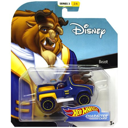 Beauty & The Beast Hot Wheels Disney Character Cars Diecast Car 1:64 (The Best Disney Characters)