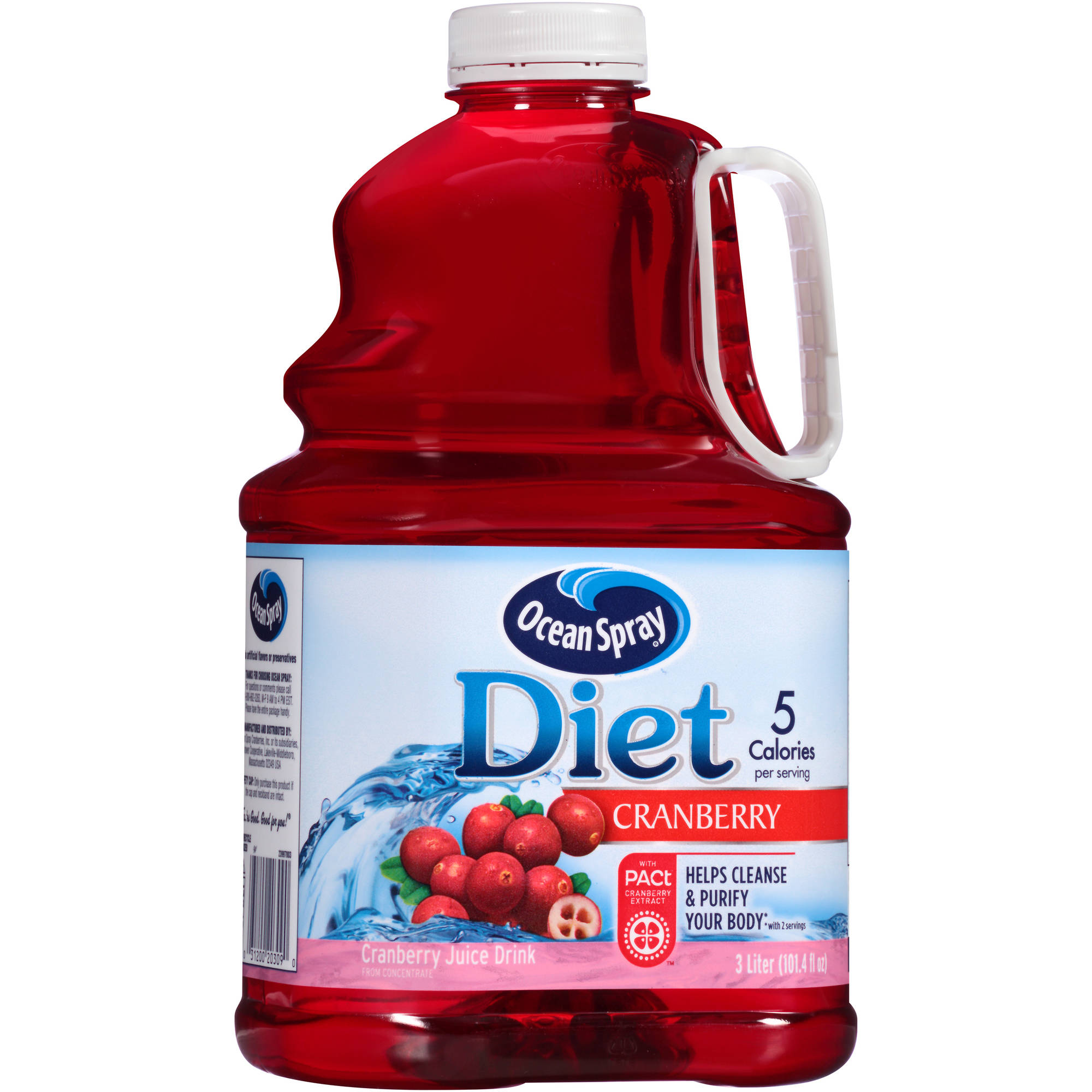 Ocean Spray Diet Cranberry Juice, 3 Liters