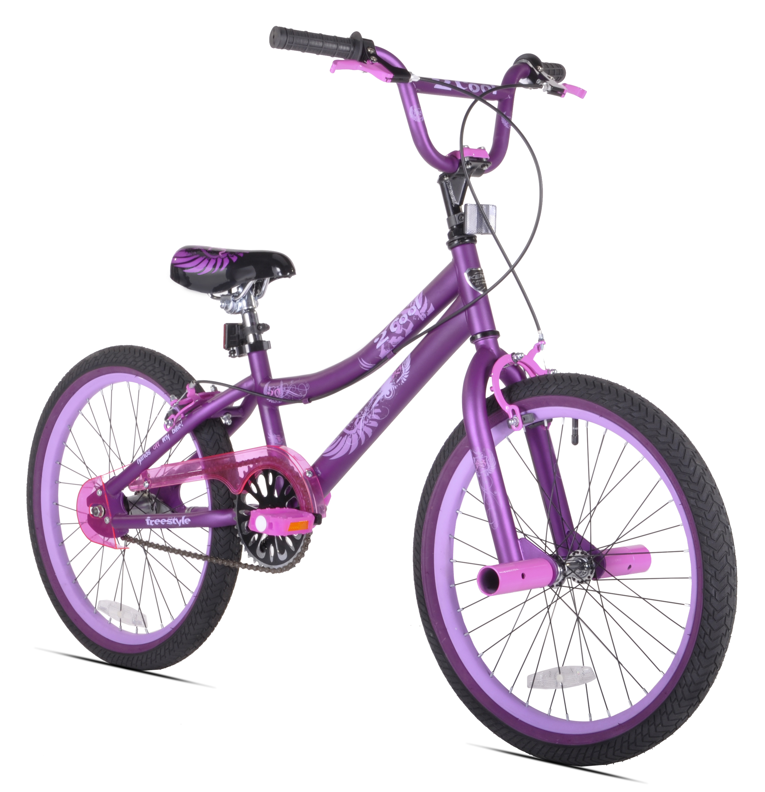 "Kent 20"" 2 Cool Girls' BMX Bike, Satin Purple by Kent International Inc"