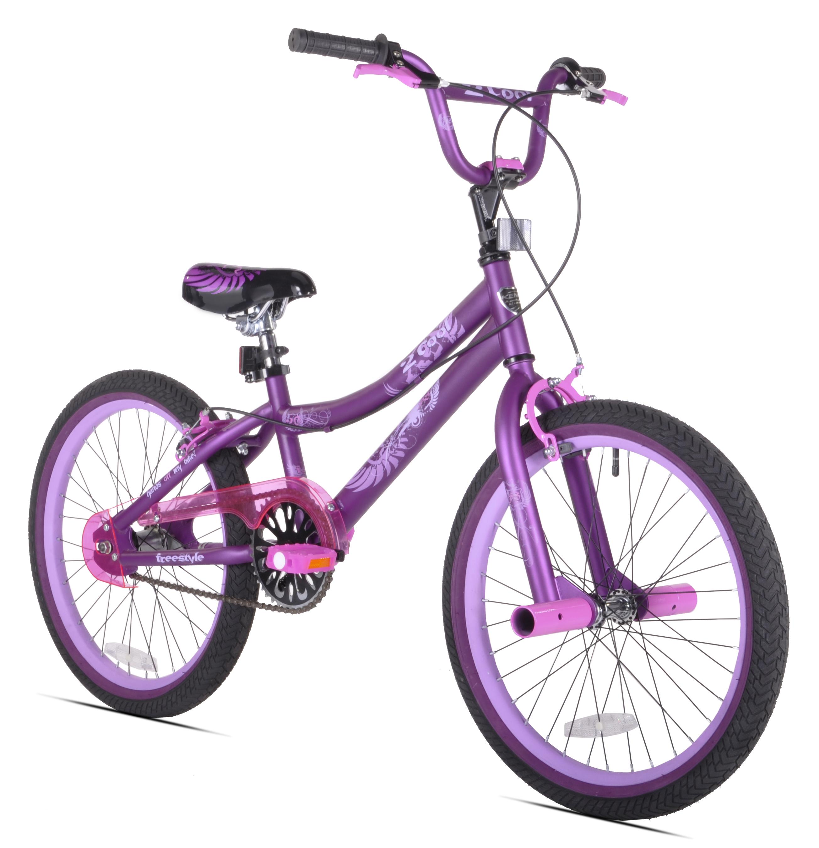 "Kent 20"" 2 Cool Girls' BMX Bike, Satin Purple"