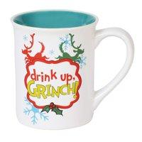 Dr. Seuss The Grinch Drink Up Grinch Mug