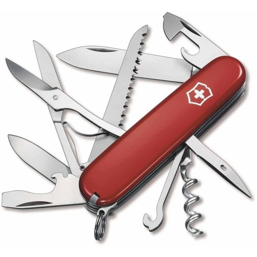 Huntsman Multi-Tool, Red, Stainless Steel
