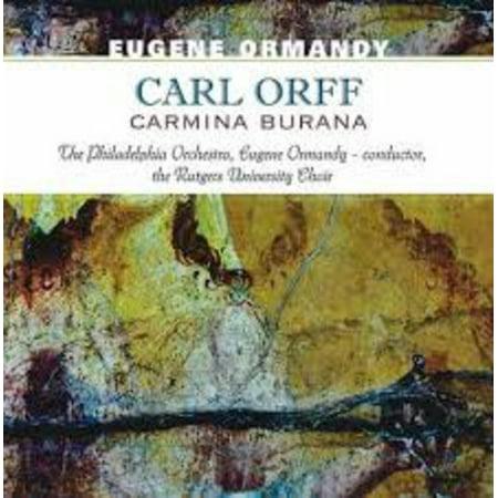 Carl Orff-Carmina Burana (Vinyl) (Carmina Burana Scenic Cantata For Soloists Choruses)