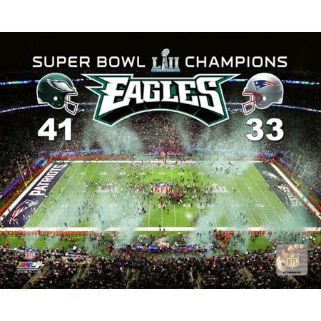 US Bank Stadium Super Bowl LII with Overlay Photo Print](Halloween Photo Overlay)