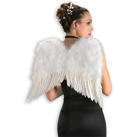 Adult White Feather Angel