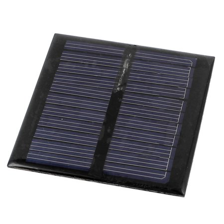 DC 5.5V 0.6W Square Energy Saving Solar Cell Panel Module 65x65mm for