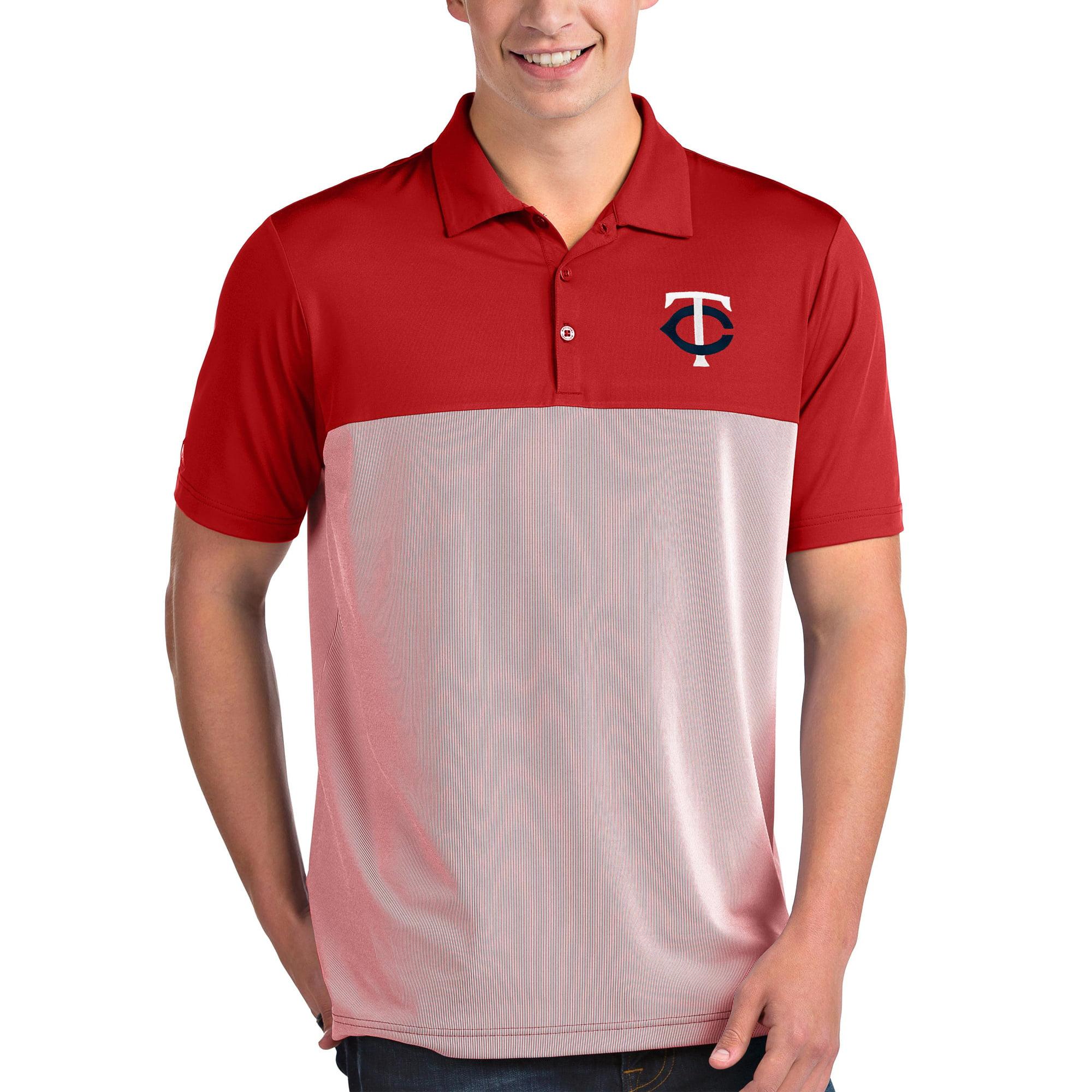 Minnesota Twins Antigua Venture Polo - Red/White