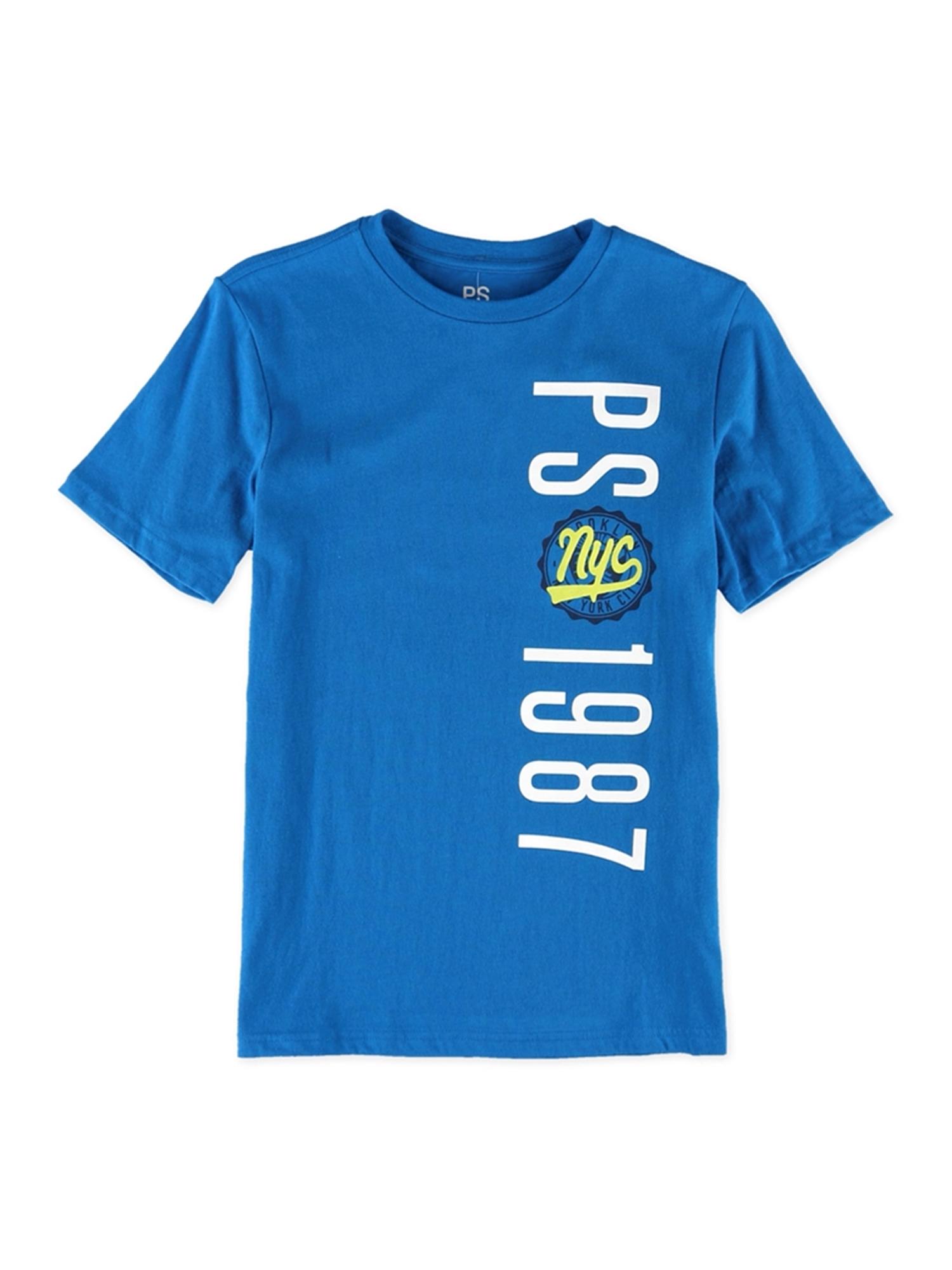 Aeropostale Boys Nyc Shield Graphic T-Shirt