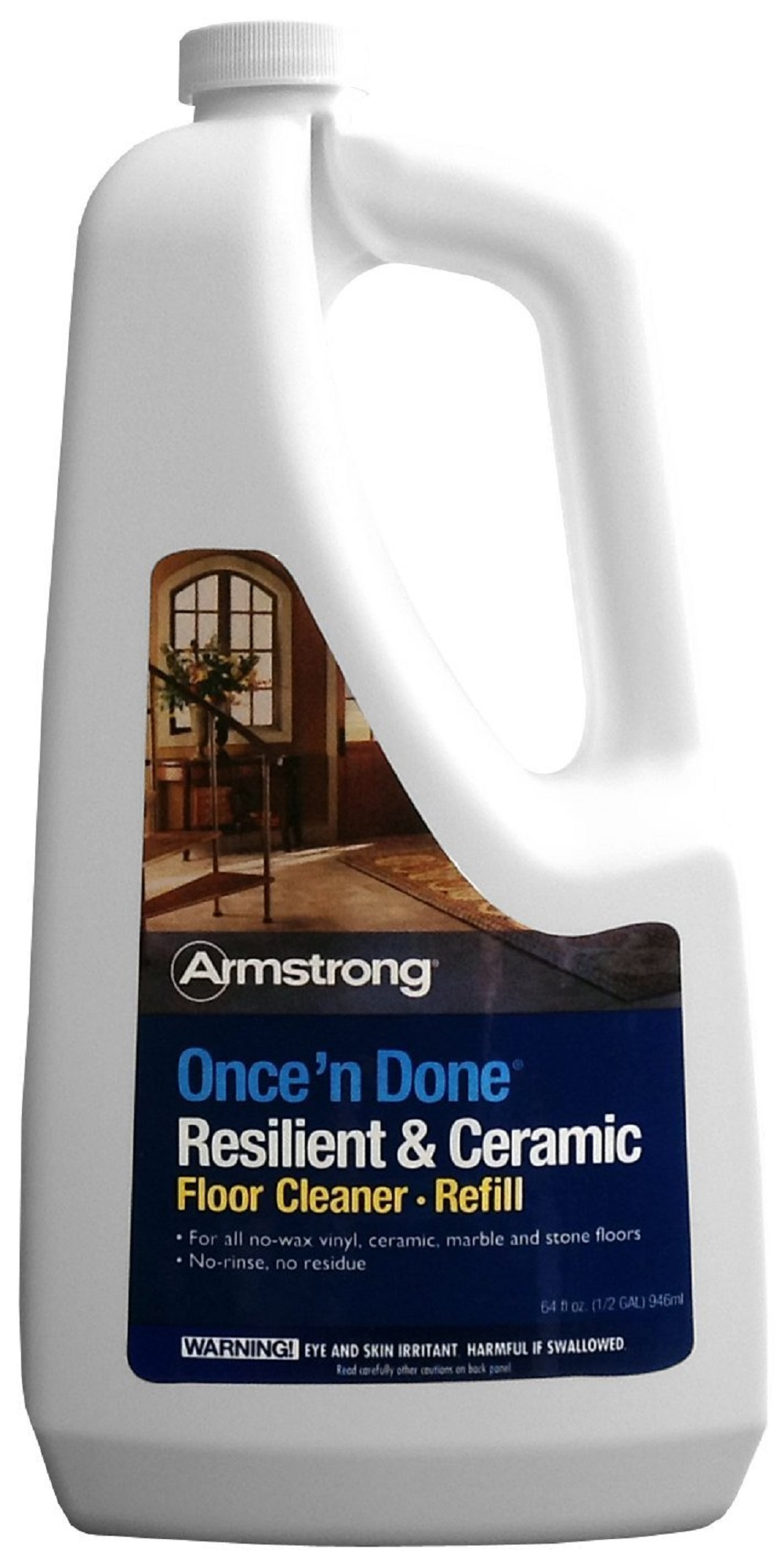 Armstrong Once N Done Resilient Ceramic Floor Cleaner 64 Oz Fp00337406