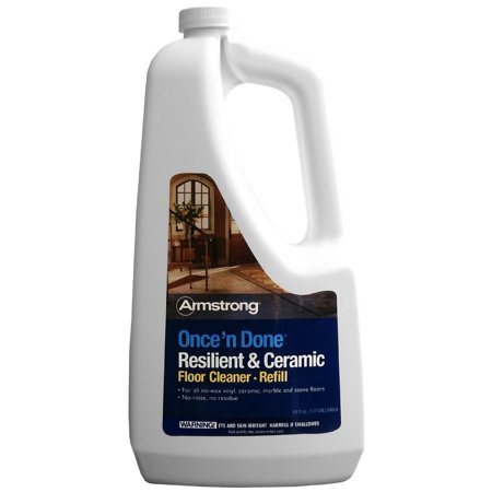 Armstrong Once 'N Done Resilient & Ceramic Floor Cleaner 64 oz