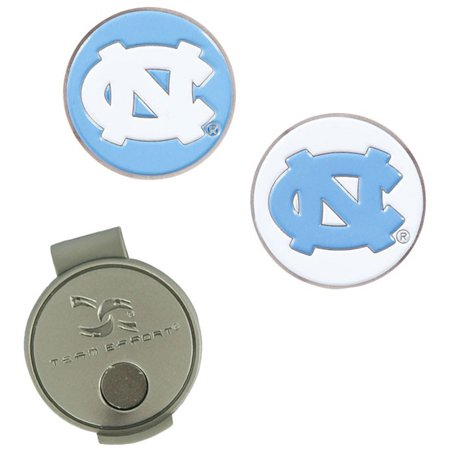North Carolina Tar Heels Hat Clip & Ball Markers Set - No Size