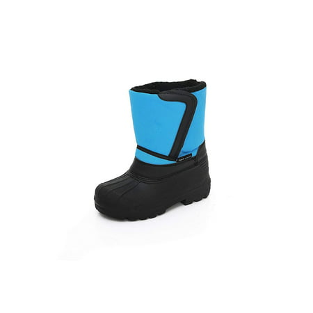 Unisex Kids Winter Snow Boots - Insulated Toddler/Little Kid/Big - Dc Blue Snowboard Boots