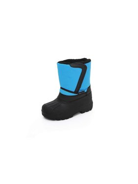 Unisex Kids Winter Snow Boots - Insulated Toddler/Little Kid/Big Kid