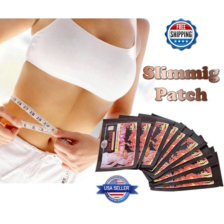 60 Pcs(2 Course)The Third Generation Slimming Navel Stick Slim Patch Weight Loss ()
