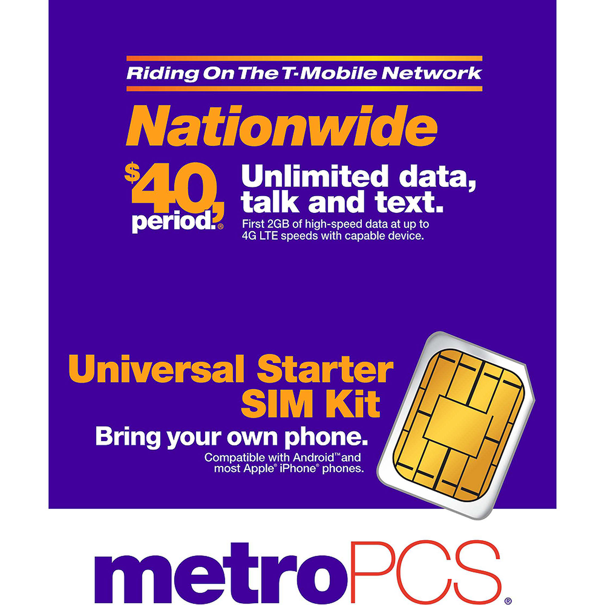 metro pcs iphone sim card metropcs byod sim card walmart 7976
