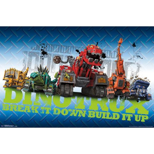 Dinotrux Group TV Show Poster 22x34