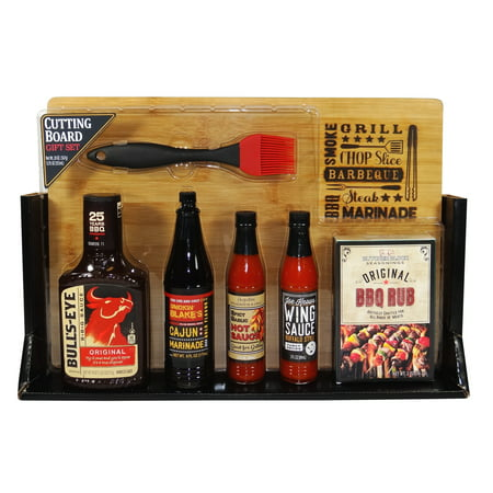 Food Gift Packaging - Cutting Board Gift Set, 7 Piece Gift Set