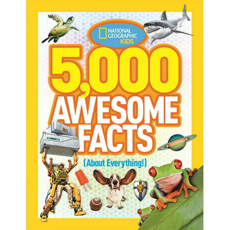 National Geographic Kids: 5,000 Awesome Facts (about Everything!) (Hardcover)