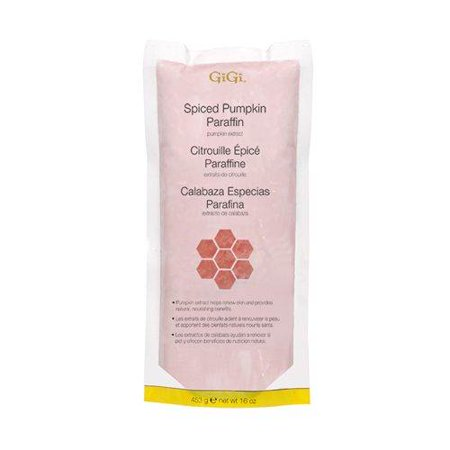 - GiGi Skin and Nail Treatment Paraffin - Spiced Pumpkin with Pumpkin Extracts and Vitamin E 453g/16oz