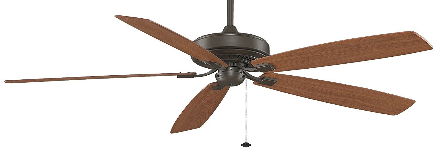 Fanimation Edgewood Supreme 72 inch Oil-Rubbed Bronze with Pull-Chain TF721OB by Fanimation - DROPSHIP
