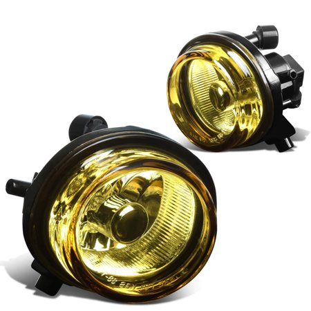 For 2007 to 2009 Mazda CX -7 Pair Front Bumper Driving Fog Light / Lamps Amber Lens 08