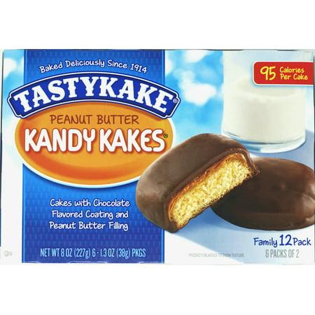 Tastykake Pack (Tastykake Chocolate Peanut Butter Kandy Kakes - Pack of 2 )