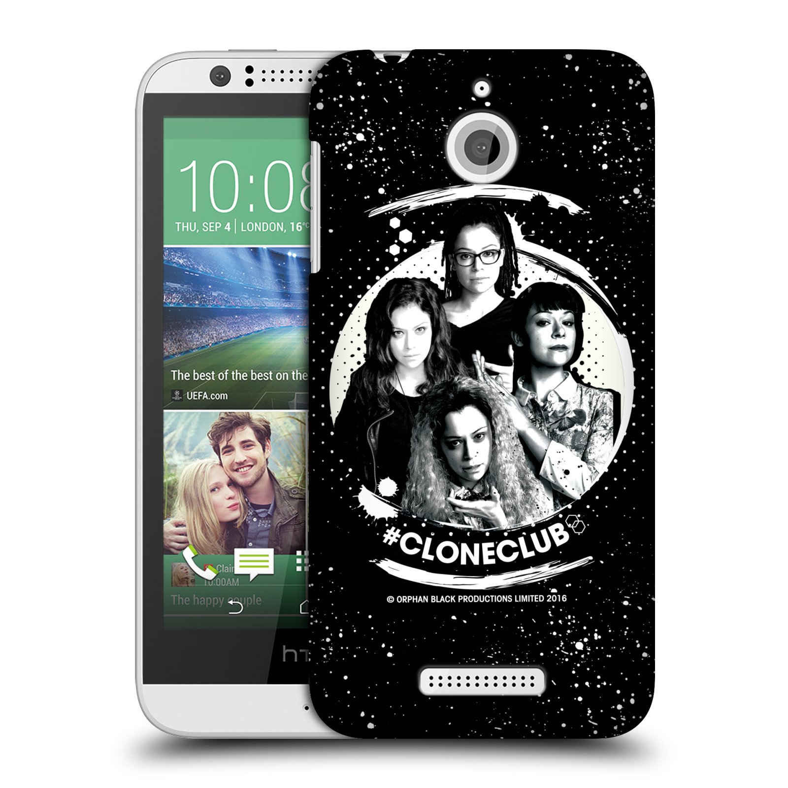 OFFICIAL ORPHAN BLACK #CLONECLUB HARD BACK CASE FOR HTC PHONES 2