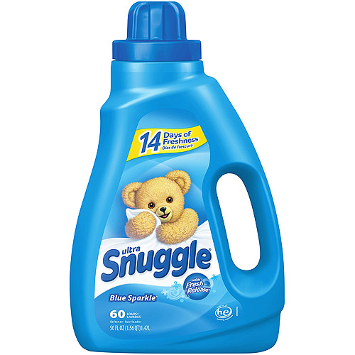 Snuggle Blue Sparkle With Fresh Release Liquid Fabric Softener, 50 oz