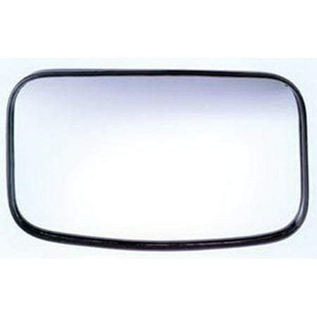 Cipa Mirrors Clamp On   4X 8 In.   Adjustable Hotspots Convex Blind Spot Mirror CIP-49504 Convex Blind Spot Mirror