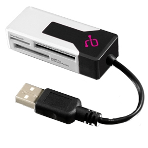 MULTI-MEDIA CARD READER USB 2.0 SDHC/MICROSD/MINISD