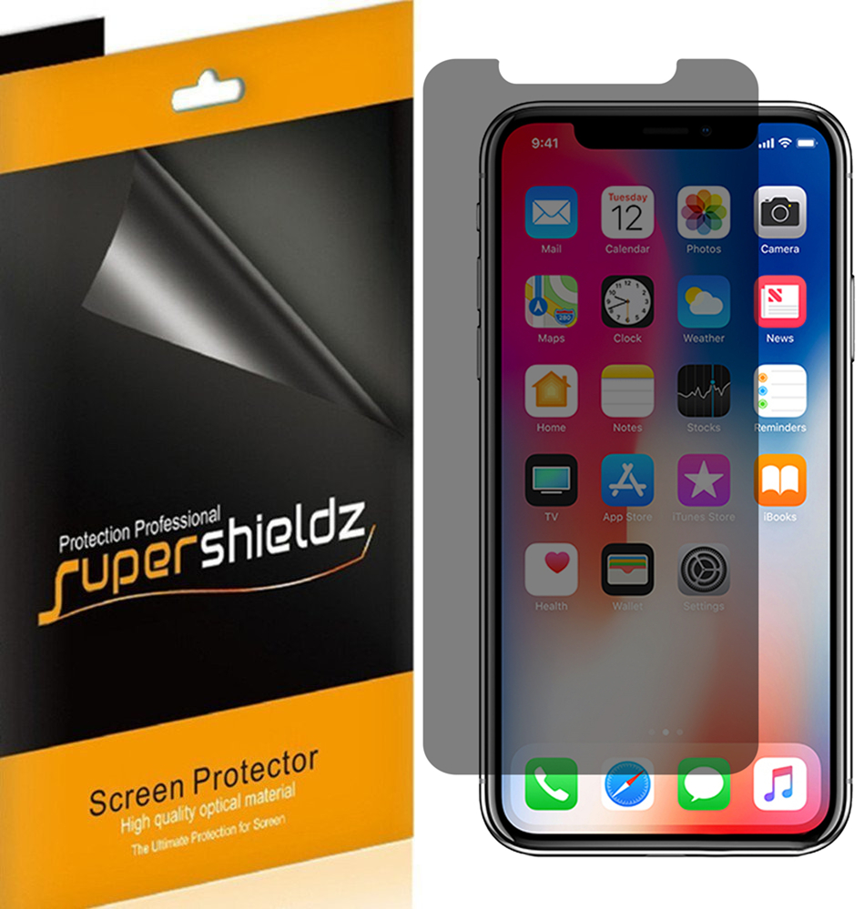 spyware on iphone 2 pack supershieldz apple iphone x privacy anti 3290