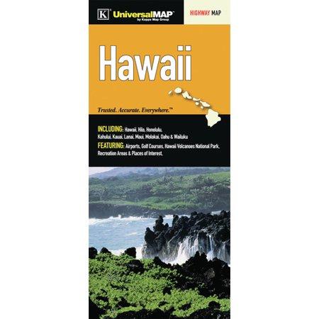 Universal Map Hawaii State Fold Map