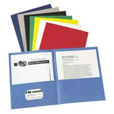 Avery 2 Pocket Folder (Avery Consumer Products AVE47987 Two Pocket folder- 8-.50in.x11in.- W-O Fasteners- Green)