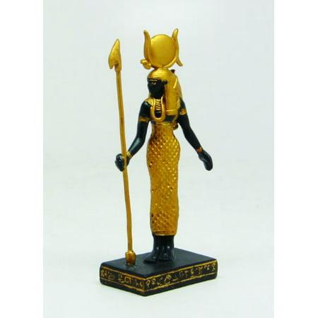 3.25 Inch Hathor Egyptian Mythological Guardian Statue