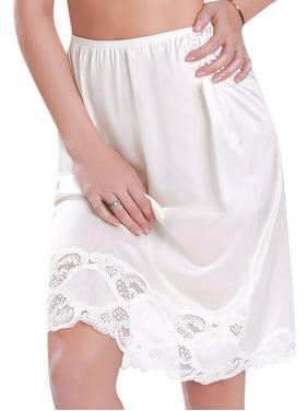 "Ilusion Women's Half Slip Skirt 24"" Length"
