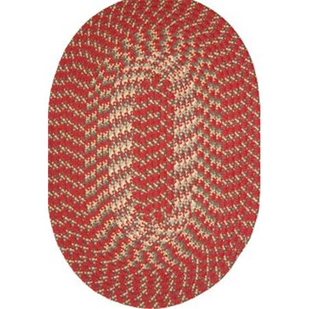 Robin Rug H0325 Hometown 20 X 30 Inches Colonial Red