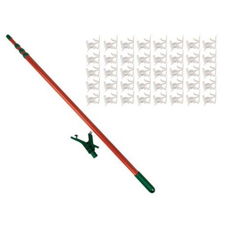 11 Telescoping Christmas Tree Decorating Pole For Hanging