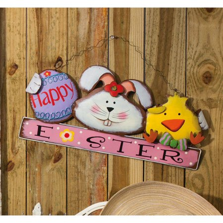 Easter Bunny Parade (Easter on Parade Happy Easter Chick and Bunny Wall)