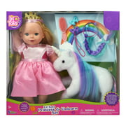 Lil Tots Princess 14 Inch Doll & Unicorn Play Set