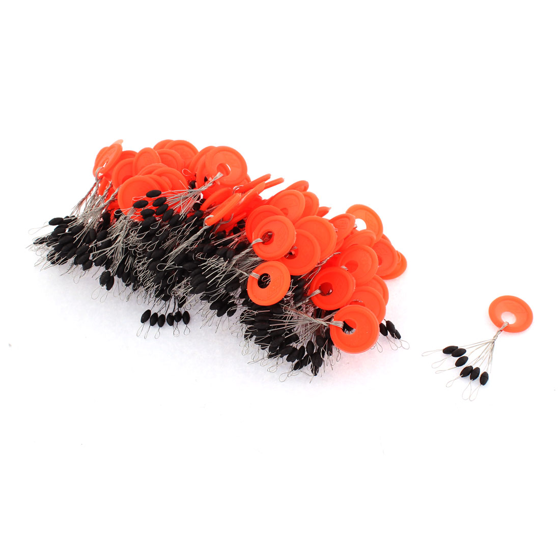 Unique Bargains 6 in 1 Beads Fishing Floaters Bobbers 5mm Long 100 Pcs by Unique-Bargains